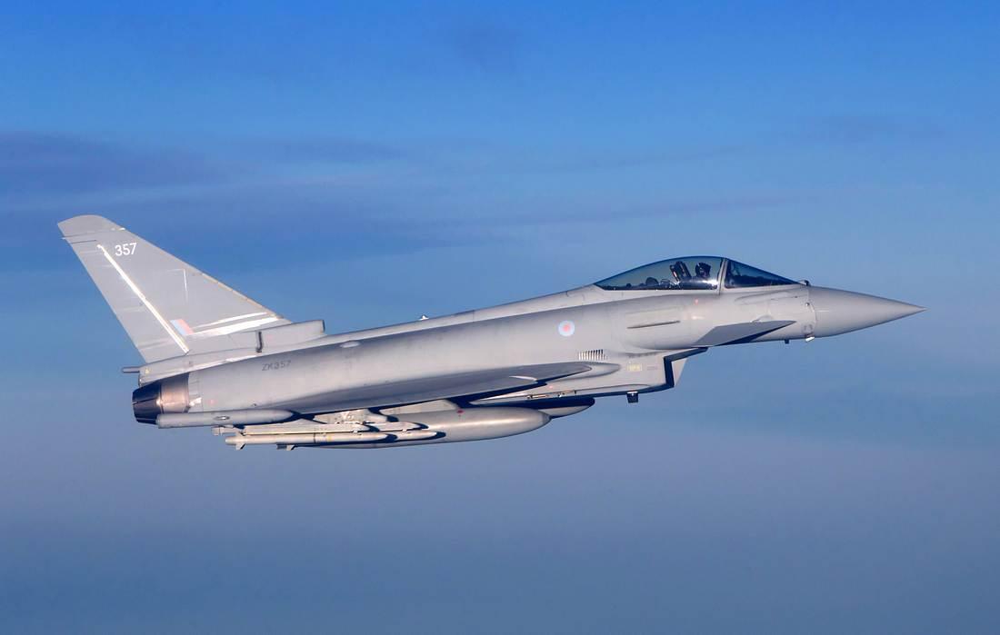 Kampfjet im Flug
