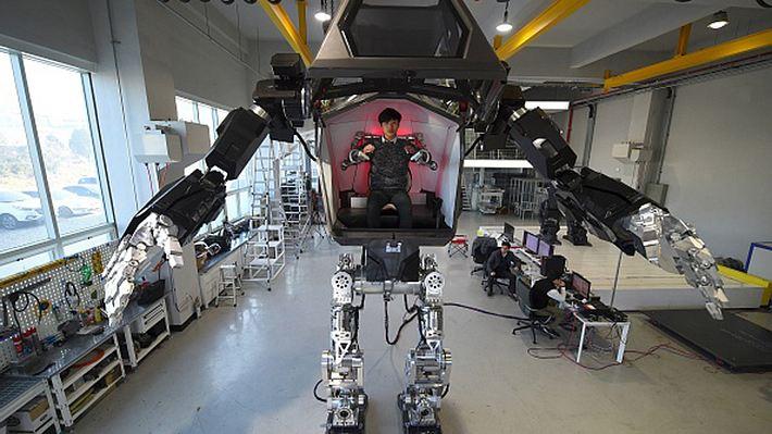 Hankook Mirae: Kampfroboter method-2 für Grenze zu Nordkorea - Foto: JUNG YEON-JE/AFP/Getty Images