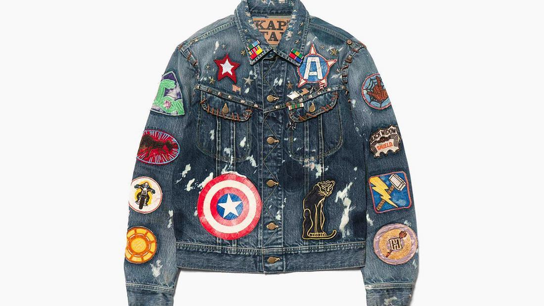 Kapital und Marvel lassen Superhero-Jeansjacke von der Leine