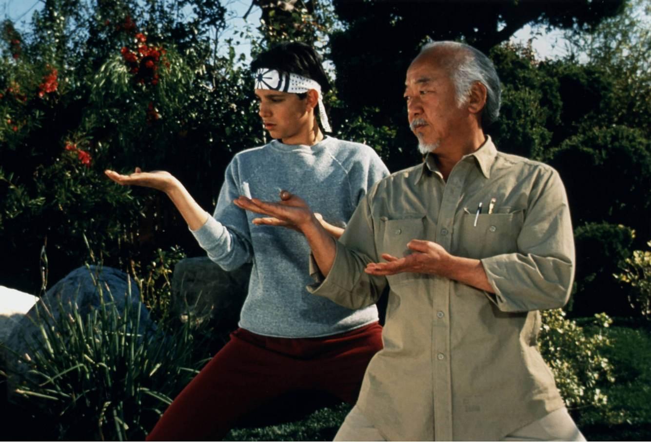 Szene aus Karate Kid