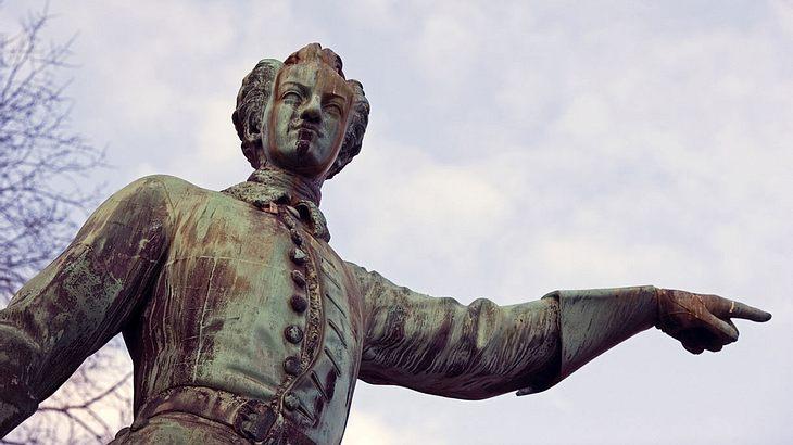 Statue von Karl XII. in Stockholm, Schweden