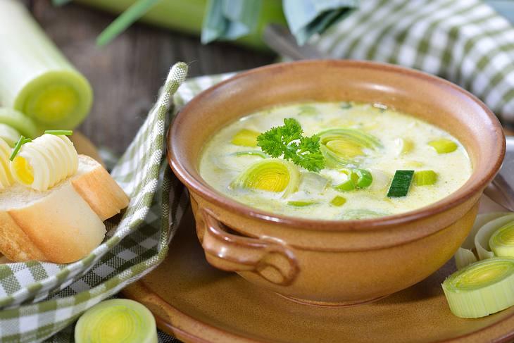 Käse-Lauch-Suppe Rezept