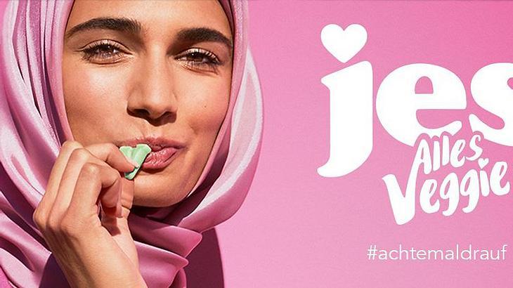 Katjes: Skandal um Werbung mit Kopftuch-Model