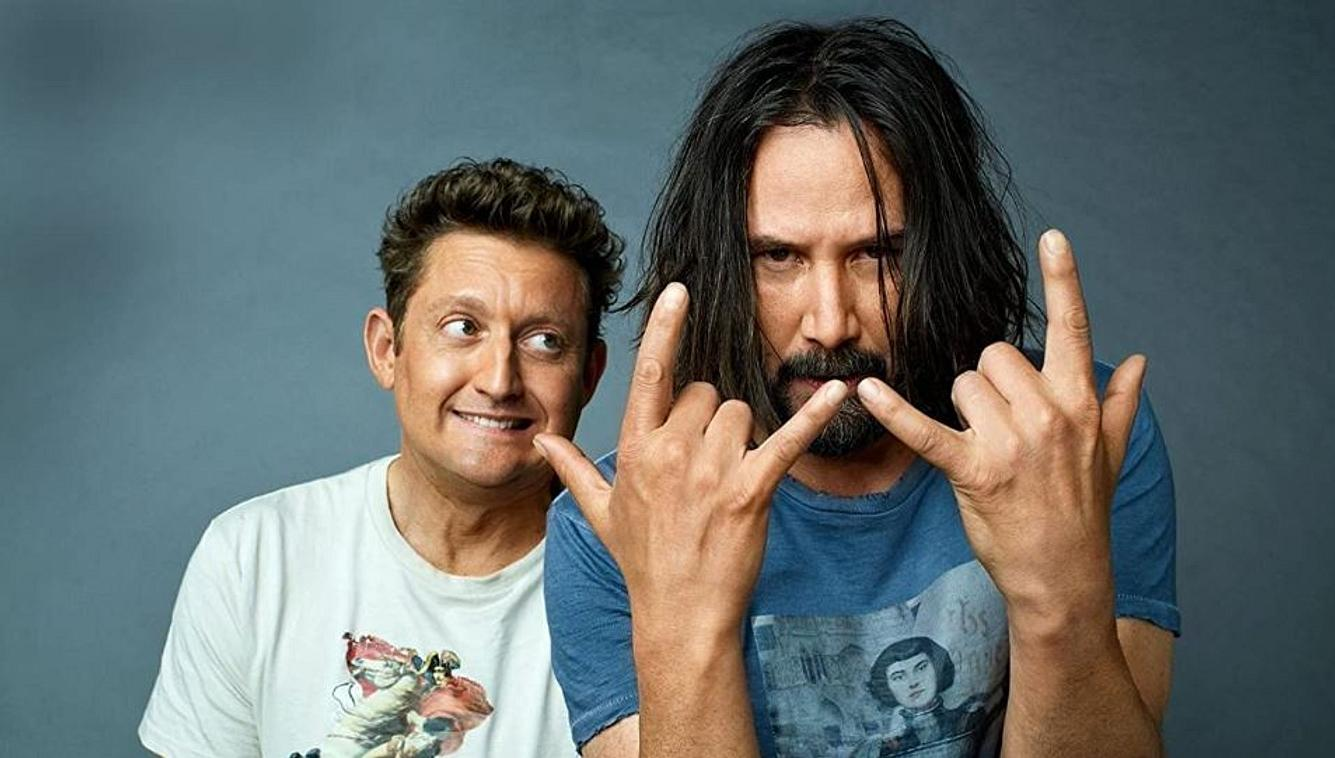 Keanu Reeves und Alex Winter in Bill & Ted Face the Music