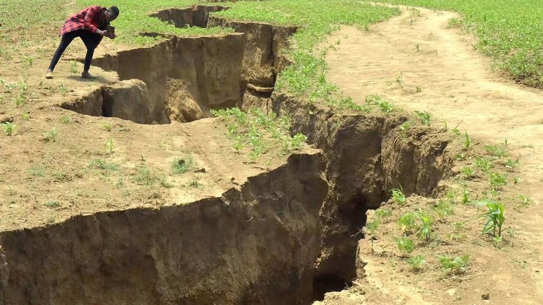 Geologen bestätigen: Afrika bricht auseinander