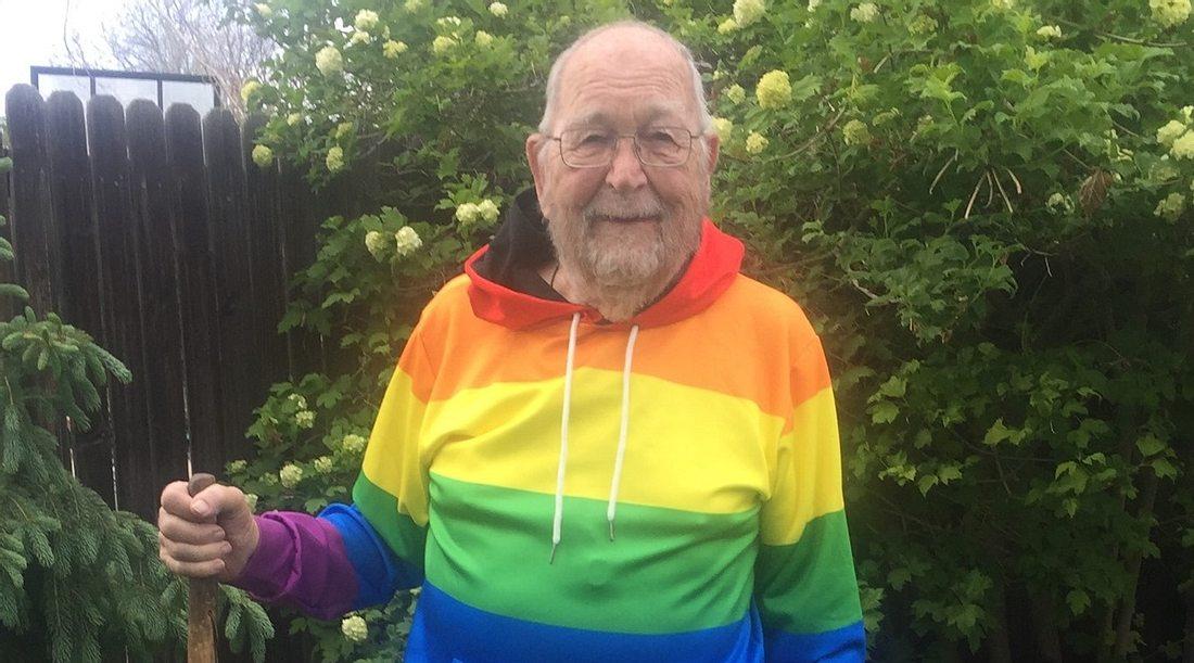 Mit 90 Jahren: Mann gesteht seiner Familie, dass er schwul ist