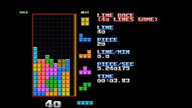 Tetris-Boss klärt 40 Lines in unter 20 Sekunden