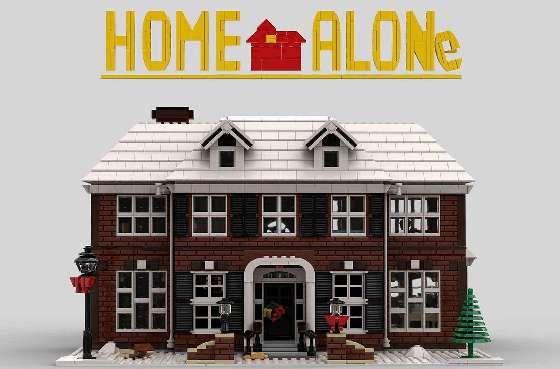 Kevin – Allein zu Haus Lego Set