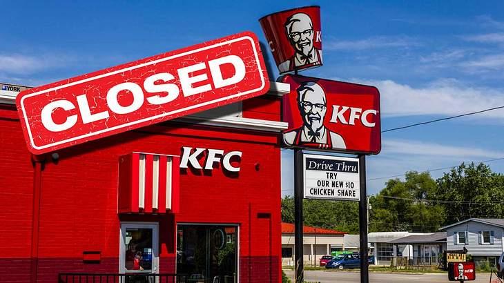 KFC bleibt geschlossen