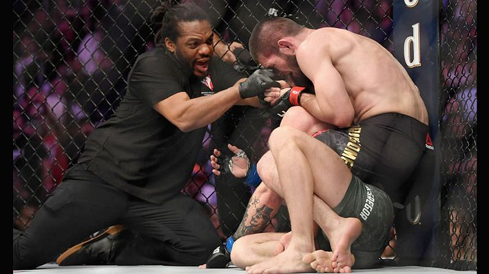 Khabib Nurmagomedov gegen Conor McGregor - Foto: Getty Images / Harry How