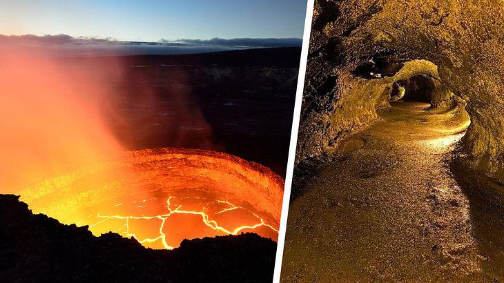 Auf Hawaii gibt es ein riesige unbekanntes Hölensystem