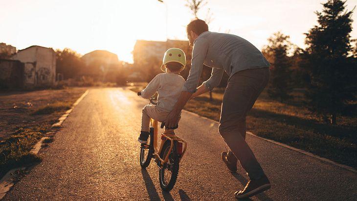 Kindererziehung ist für viele Väter Herzensangelegenheit (Symbolfoto).