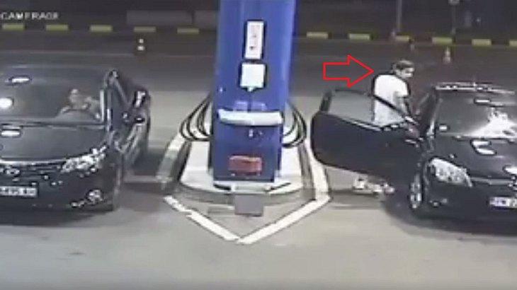 Zigarette auf der Tankstelle anzünden? Keine gute Idee!