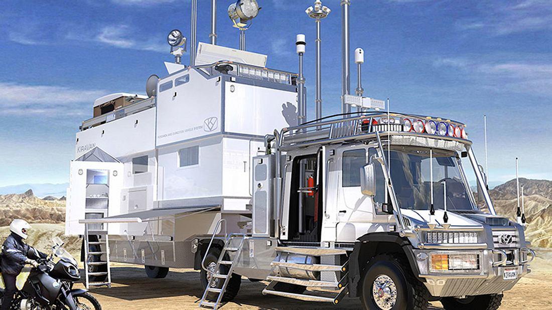 KiraVan: HighTech-Truck der Superlative