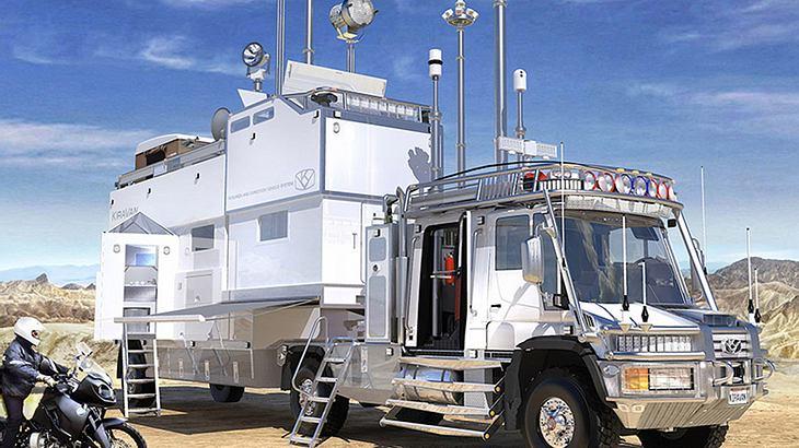 KiraVan: Der HighTech-Truck der Superlative