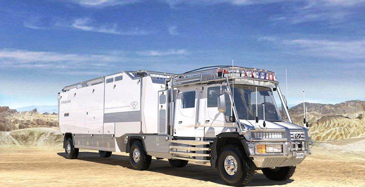 KiraVan: mit einem 260 PS starken Reihensechszylinder-Dieselmotor von Mercedes