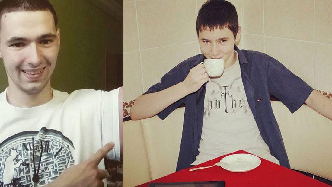 Kirill Tereshin ist stolz auf seinen Bizeps