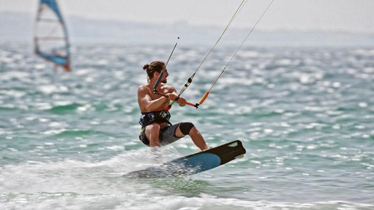 Kiteboard Meer