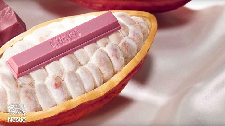 Das rosa KitKat