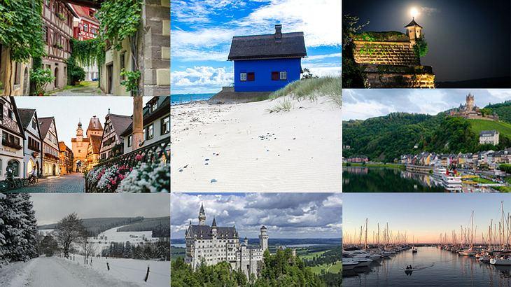 Die 20 beliebtesten Kleinstädte Deutschlands 2019