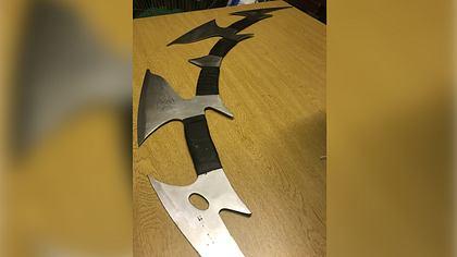 Bei Polizei wurde ein Klingonen-Schwert abgegeben
