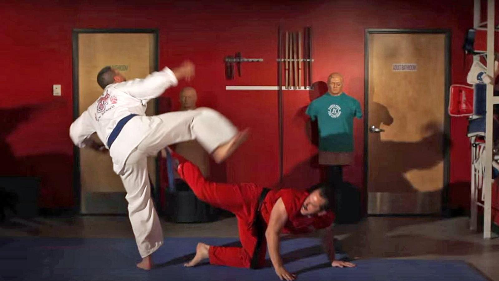 Klöten-Kung-Fu: 100 Techniken, jemandem in die Eier zu