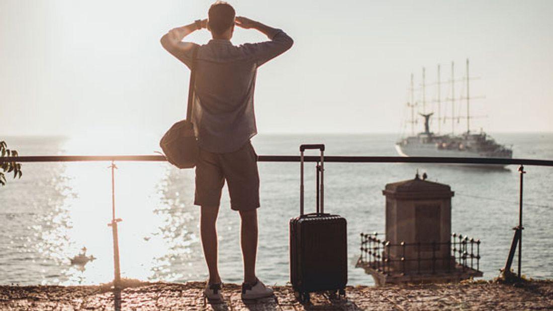 Ein Koffer mit 4 Rollen ist der perfekte Reisebegleiter