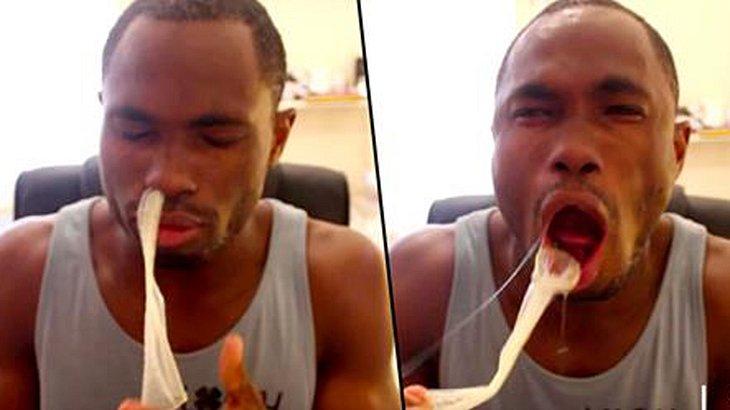 Die Kondom-Challenge kann schnell mit dem Tod enden.