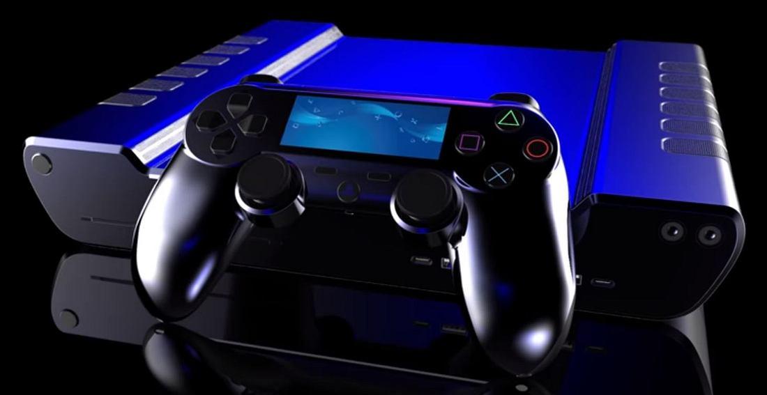 Konzept-Design für die PlayStation 5