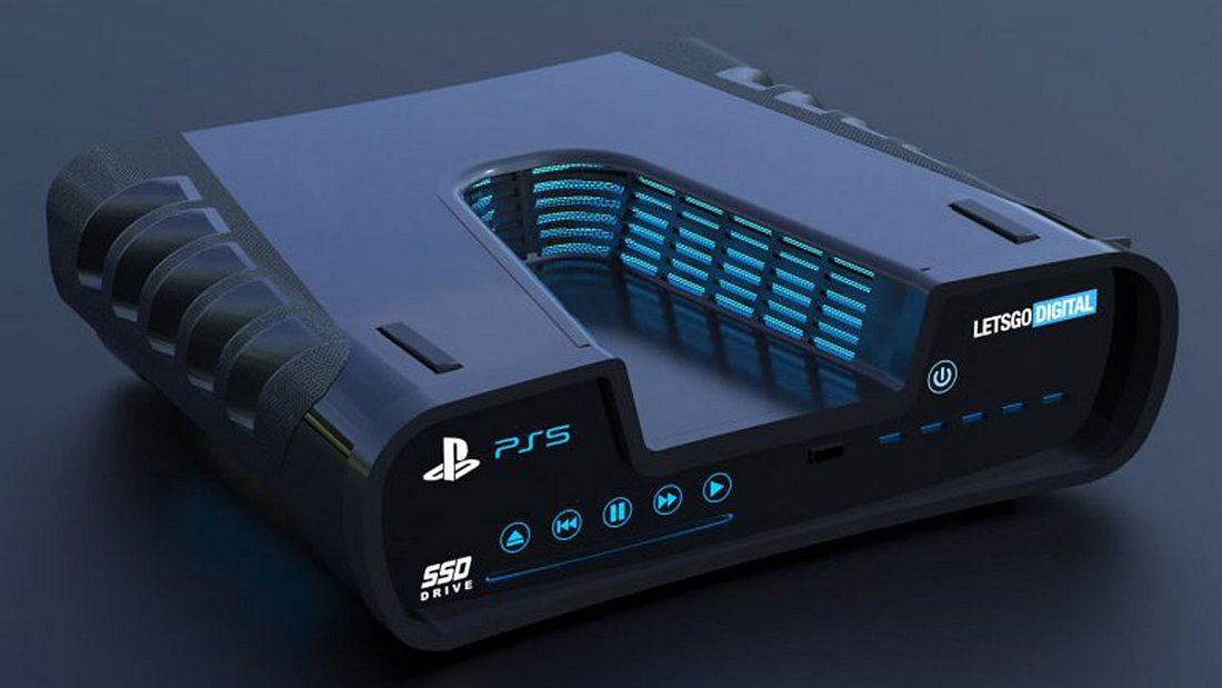 Konzeptdesign der PS5