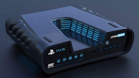 Konzeptdesign der PS5 - Foto: LetsGoDigital