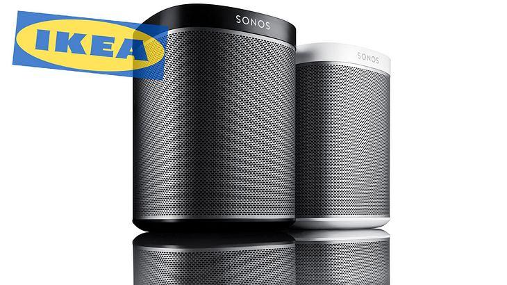 Kooperation zwischen Sonos und IKEA