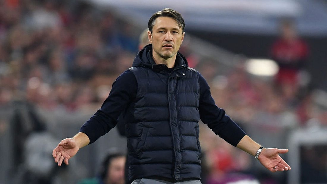 Trainer Niko Kovac wackelt beim FC-Bayern.