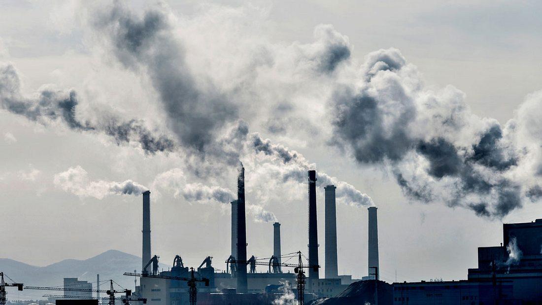 Klimaverschmutzung durch Kraftwerke