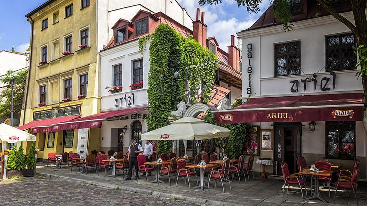 Jüdische Restaurants in Kazimierz