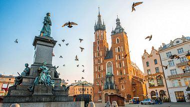 Der Marktplatz in Krakau - Foto: iStock / RossHelen