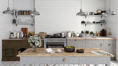 Moderne Küche - Foto: iStock / Gladiathor