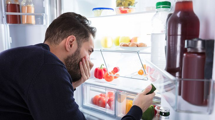 Hausmittel gegen einen stinkenden Kühlschrank