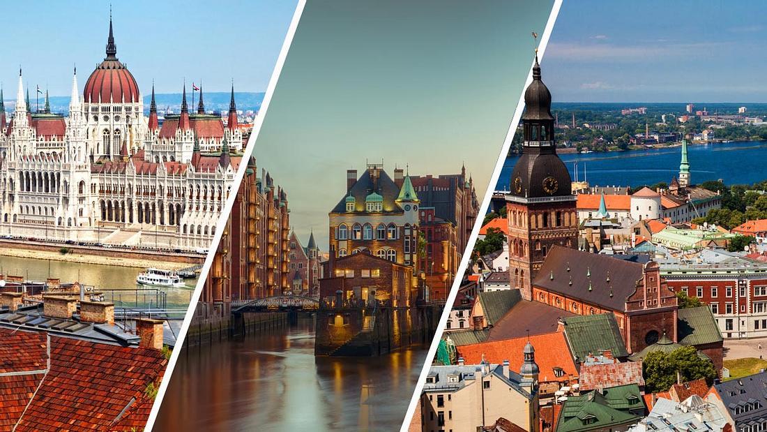 Die 10 günstigsten Städte für einen Kurztrip in Europa