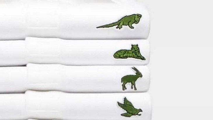 Limitierte Kollektion: LACOSTE ersetzt Krodokil-Logo durch bedrohte Tierarten