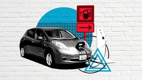 Elektroauto an Ladestation - Foto: iStock / joel-t ; Männersache