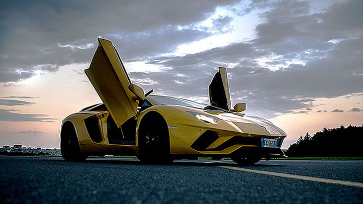 Italian Blues: Der Lamborghini Aventador S