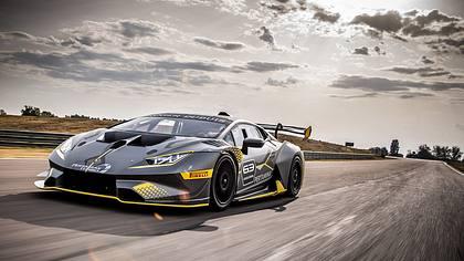 Lamborghini enthüllt: Huracán Super Trofeo EVO