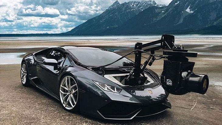Lamborghini mit 8K-Kamera