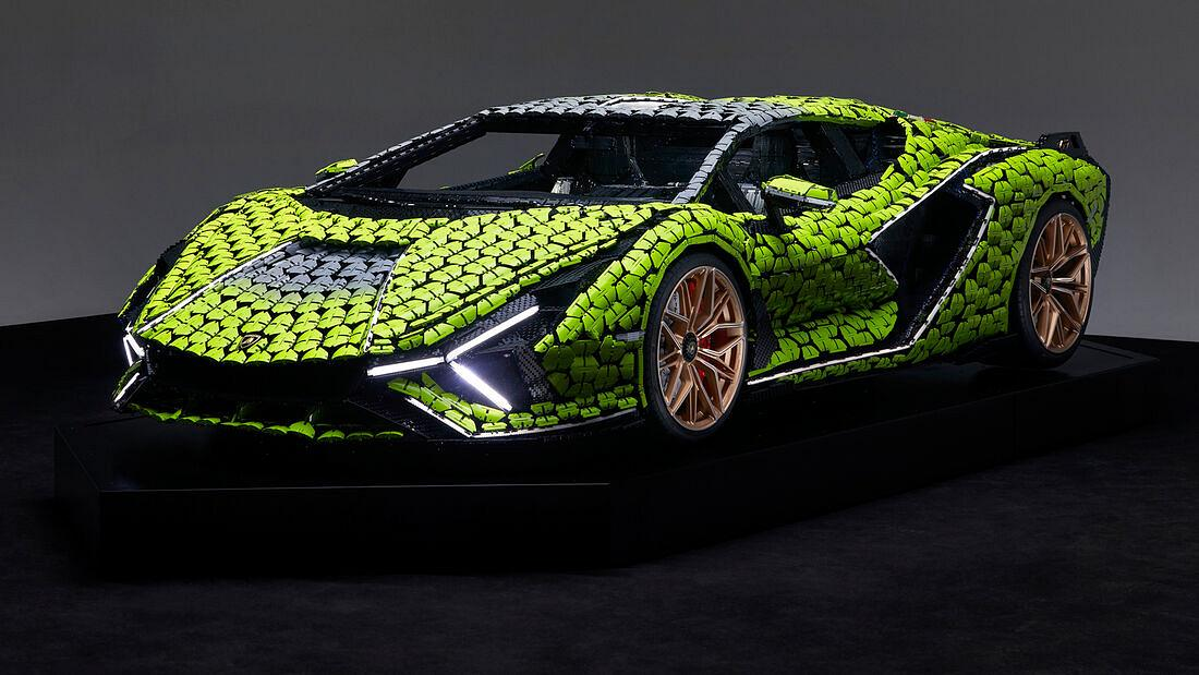 Lamborghini Sian FKP 37 aus Lego