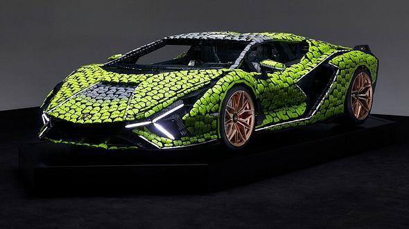 Lamborghini Sian FKP 37 aus Lego - Foto: Lego