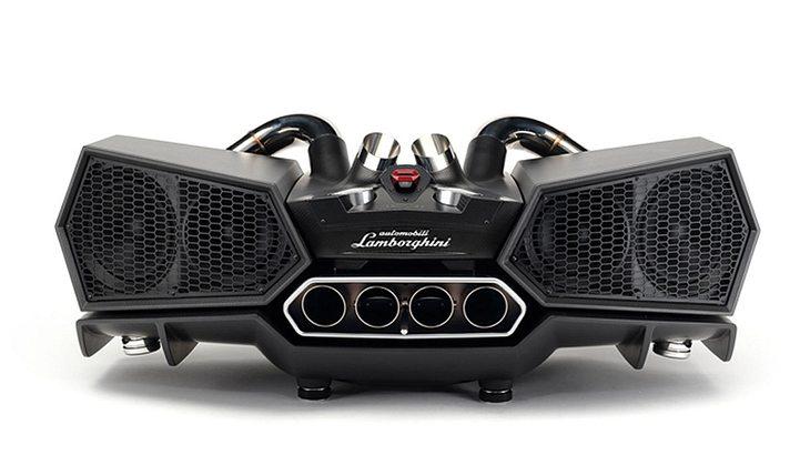 Lamborghini Docking Station Esavox: Die teuersten Smartphone-Boxen der Welt