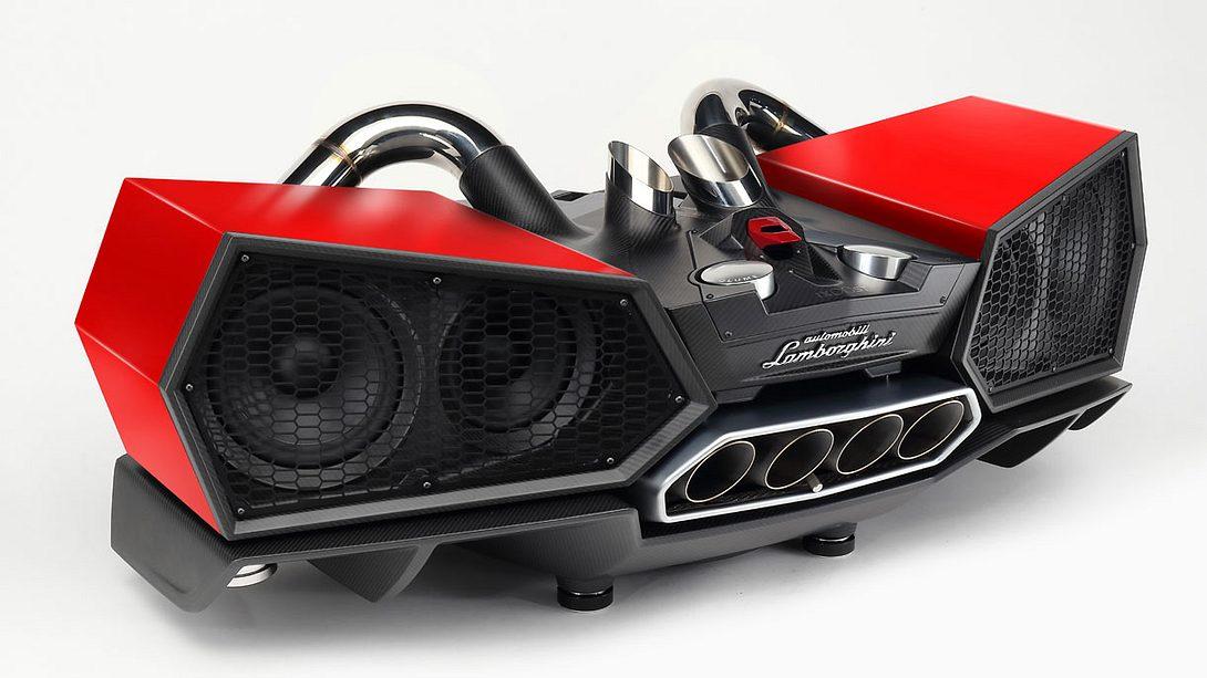 Lamborghini Esavox: Die teuersten Handy-Speaker der Welt
