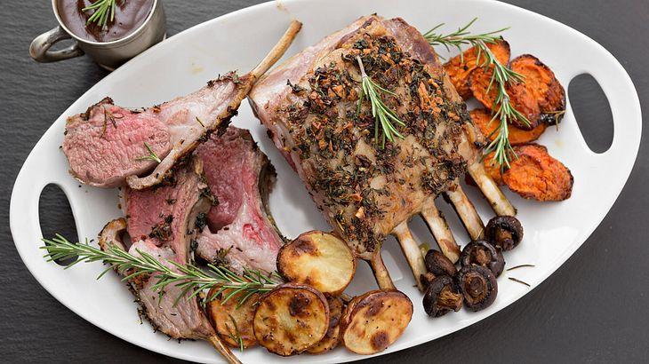 Lammfleisch ist ein Hochgenuss, wenn das Fleisch innen noch rosa ist