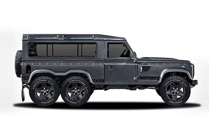 Autodesign: Dieser Land Rover kommt mit sechs Rädern